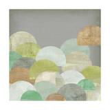 Scalloped Landscape I Prints by Jennifer Goldberger