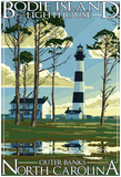 Bodie Island Lighthouse - Outer Banks, North Carolina Poster
