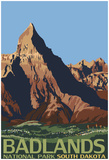 Badlands National Park, South Dakota Prints