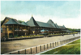 Saratoga Springs, New York - Race Course Grand Stand View Prints