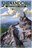 Shenandoah National Park, Virginia - StoNY Man Cliffs View Poster
