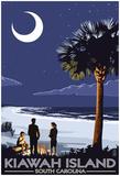 Palmetto Moon - Kiawah Island, South Carolina Posters