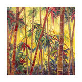 Bamboo Grove II Posters by Nanette Oleson