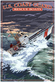 U.S. Coast Guard - 44 Foot Motor Life Boat Posters