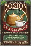 Boston, Massachusetts - Boston Tea Posters
