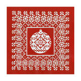 Fair Isle Snowflake VI Prints by Chariklia Zarris