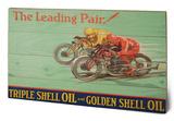 Shell - Leading Pair, 1928 Træskilt