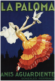 Spain - La Paloma - Anis Aguardiente Promotional Poster Posters