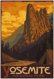 Sentinel, Yosemite National Park, California Posters
