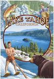 Lake Tahoe, Ca Summer Views Prints