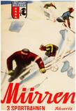 Murren, Switzerland - Inferno Races Promotional Poster Photo