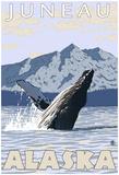 Humpback Whale, Juneau, Alaska Posters