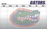 Florida Gators Dry Erase Calendar Novelty