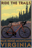 Blue Ridge Mountains, Virginia - Ride The Trails Prints