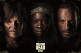 The Walking Dead - Trio Prints