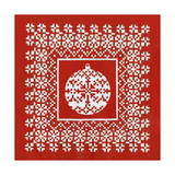 Fair Isle Snowflake IV Prints by Chariklia Zarris