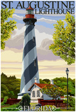 St. Augustine, Florida Lighthouse Posters