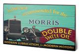 Shell - Morris, 1928 Træskilt
