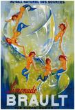 Limonade Brault Vintage Poster - Europe Posters