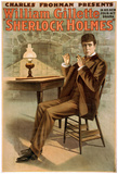 Sherlock Holmes Theatrical Play Poster No.1 Poster