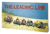 Shell - The Leading Line, 1923 Wood Sign