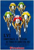 Bicycle Race Promotion Prints