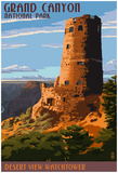 Desert View Watchtower - Grand CaNYon Posters