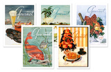 Henry Stahlhut Gourmet Cover Notecard Set Note Card Sets by Henry Stahlhut