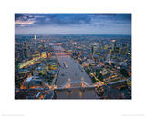 Jason Hawkes - London Print by Jason Hawkes