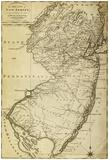 New Jersey - Panoramic Map Photo