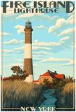 Fire Island Lighthouses - Captree Island, New York Photo