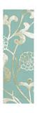 2-Up Teal Vine II Art by Norman Wyatt Jr.