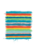 Stacked Colors One Fotodruck von Jan Weiss