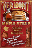 Vermont - Maple Syrup Poster