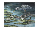 Heron Haven Print by Carolyn Mock