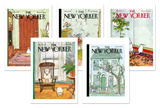 George Booth New Yorker Covers Notecard Set Note Card Sets by George Booth