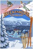 Breckenridge, Colorado Montage Posters