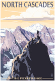 North Cascades, Washington - Mountain Peaks Prints