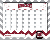 South Carolina Gamecocks Dry Erase Calendar Calendars