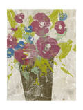 Bouquet Collage I Poster by Jennifer Goldberger