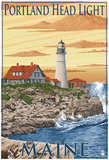 Portland Head Light - Portland, Maine Posters