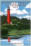 Jupiter Inlet Lighthouse - Jupiter, Florida Posters