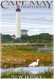 Cape May Lighthouse - New Jersey Shore Posters
