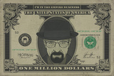 Breaking Bad - Heisenberg Dollar Posters