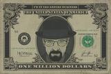 Breaking Bad - Heisenberg Dollar Kunstdruck