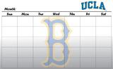 UCLA Bruins Dry Erase Calendar Novelty