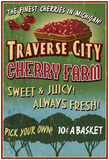 Traverse City, Michigan - Cherry Farm Posters