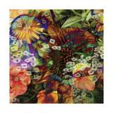 Embellished Eden Tile I Print by James Burghardt
