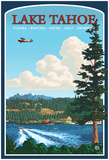 Recreation, Lake Tahoe, California Posters