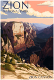 Zion National Park - Zion CaNYon Sunset Prints